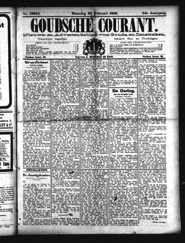 Goudsche Courant 1916-02-28