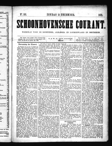 Schoonhovensche Courant 1872-12-15
