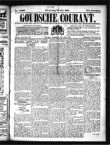 Goudsche Courant 1919-07-17