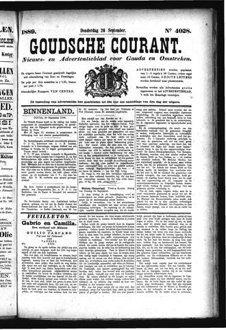 Goudsche Courant 1889-09-26