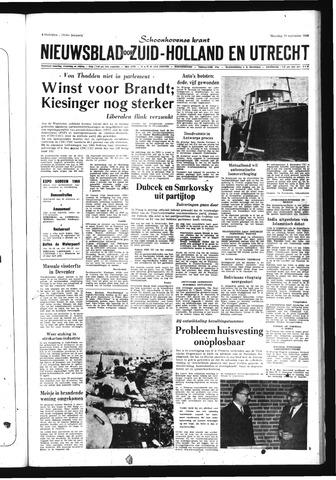 Schoonhovensche Courant 1969-09-29