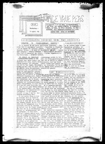 De Vrije Pers 1945-04-12