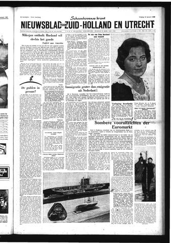 Schoonhovensche Courant 1959-01-16