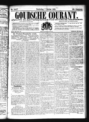Goudsche Courant 1920-10-07