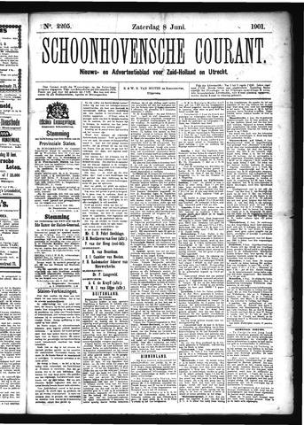 Schoonhovensche Courant 1901-06-08
