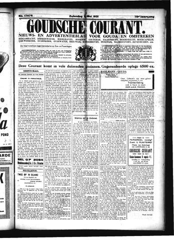 Goudsche Courant 1931-05-09