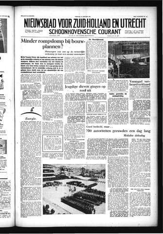 Schoonhovensche Courant 1956-01-27