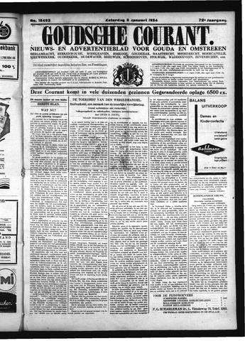 Goudsche Courant 1934-01-06
