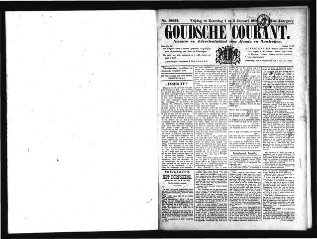 Goudsche Courant 1909
