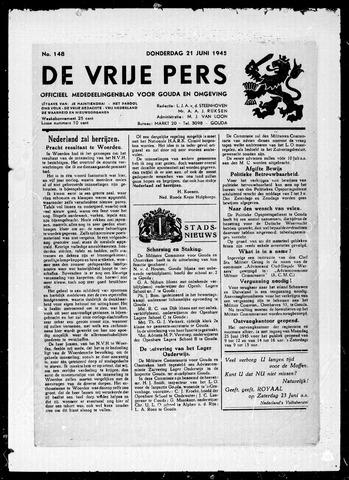 De Vrije Pers 1945-06-21