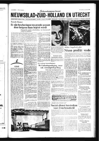 Schoonhovensche Courant 1969-01-22