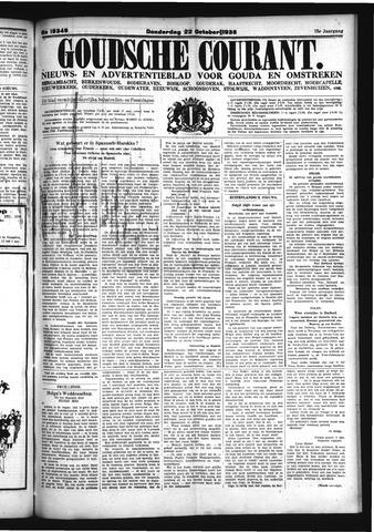 Goudsche Courant 1936-10-22