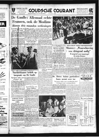 Goudsche Courant 1958-06-05