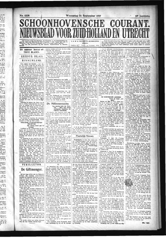 Schoonhovensche Courant 1927-09-21