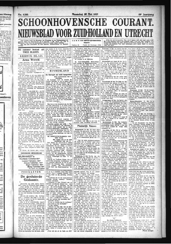 Schoonhovensche Courant 1927-05-30