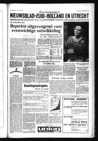 Schoonhovensche Courant 1969-09-17