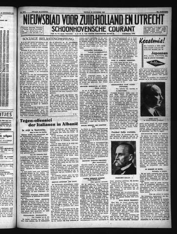 Schoonhovensche Courant 1940-12-20
