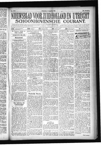 Schoonhovensche Courant 1928-08-08