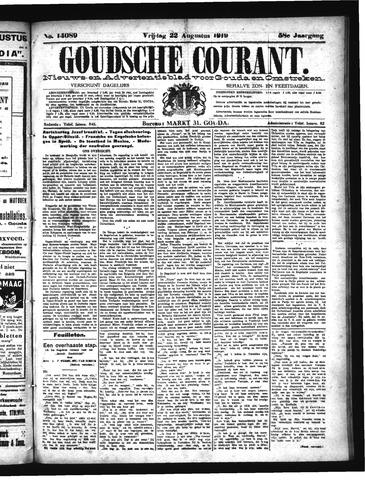 Goudsche Courant 1919-08-22