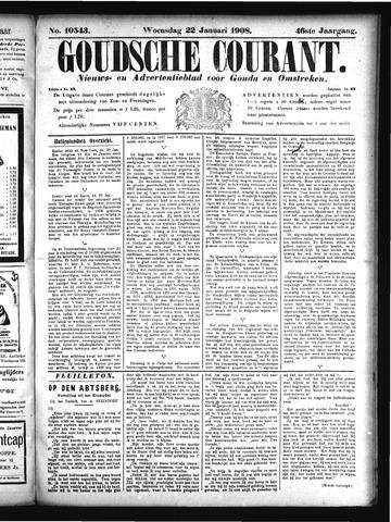 Goudsche Courant 1908-01-22