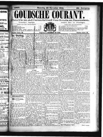 Goudsche Courant 1914-11-23