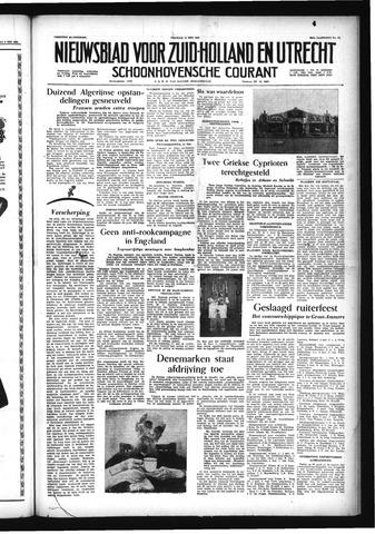 Schoonhovensche Courant 1956-05-11