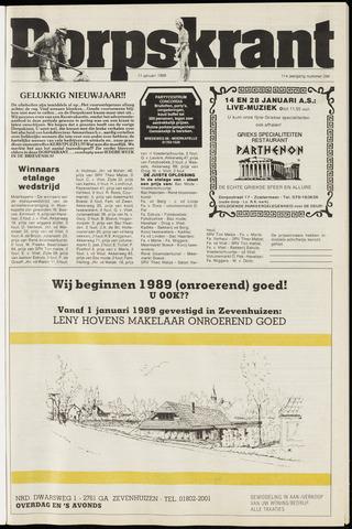 Dorpskrant 1989-01-11