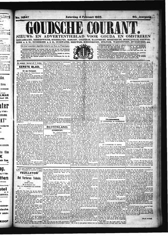 Goudsche Courant 1922-02-04