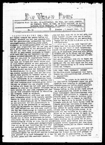 De Vrije Pers 1945-01-02