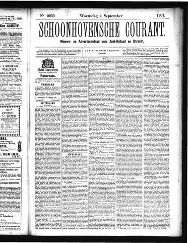 Schoonhovensche Courant 1901-09-04