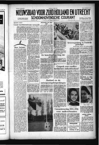 Schoonhovensche Courant 1957-04-19