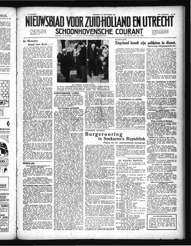 Schoonhovensche Courant 1948-09-15