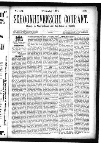 Schoonhovensche Courant 1895-05-08