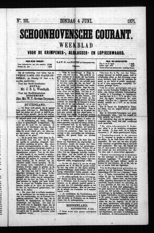 Schoonhovensche Courant 1871-06-04