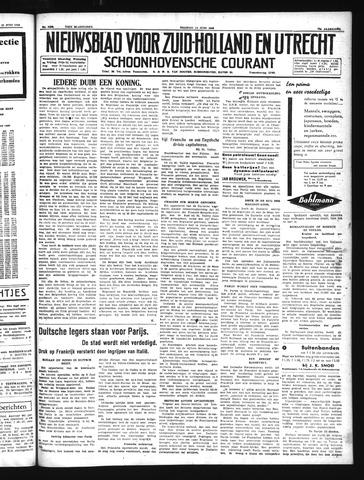 Schoonhovensche Courant 1940-06-14