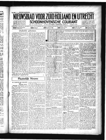 Schoonhovensche Courant 1934-12-21
