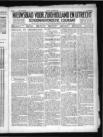 Schoonhovensche Courant 1938-02-14