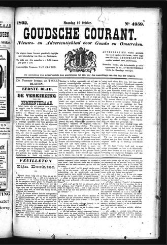 Goudsche Courant 1892-10-10