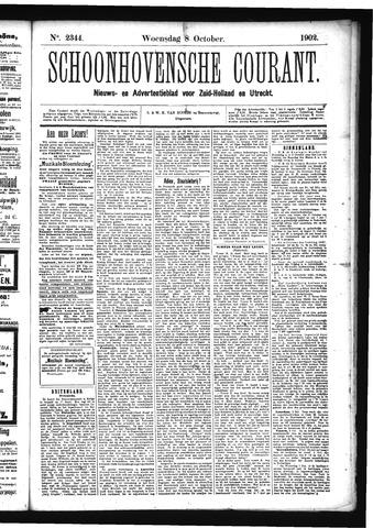 Schoonhovensche Courant 1902-10-08