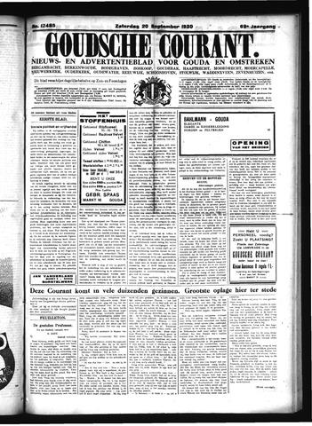Goudsche Courant 1930-09-20