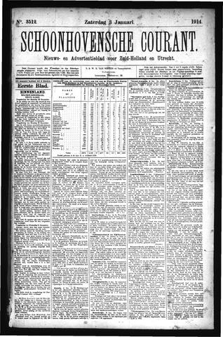 Schoonhovensche Courant 1914