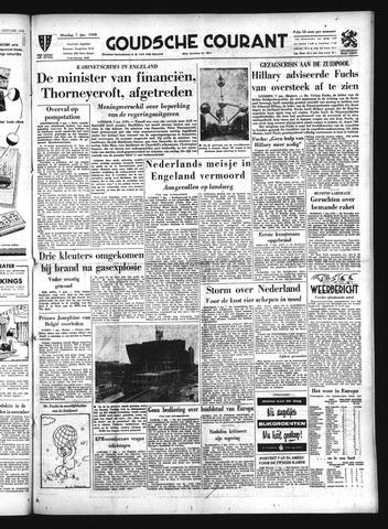 Goudsche Courant 1958-01-07