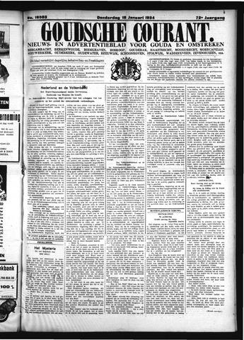 Goudsche Courant 1934-01-18