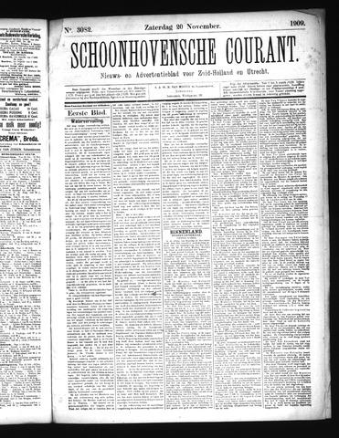 Schoonhovensche Courant 1909-11-20