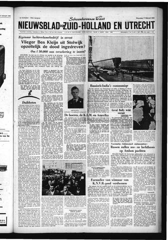 Schoonhovensche Courant 1960-02-17
