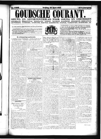 Goudsche Courant 1932-04-22