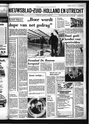 Schoonhovensche Courant 1977-06-27