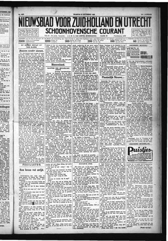 Schoonhovensche Courant 1929-09-30
