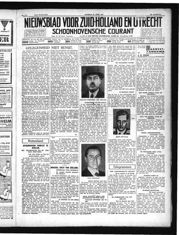 Schoonhovensche Courant 1937-04-12