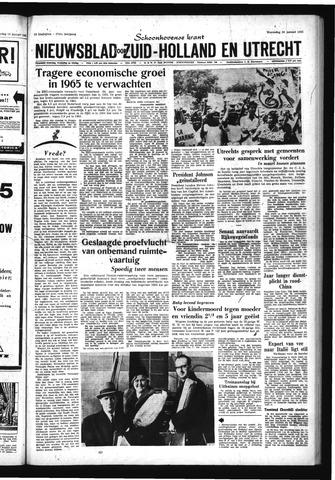 Schoonhovensche Courant 1965-01-20